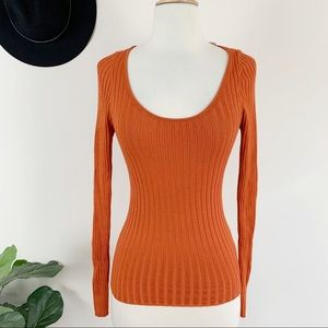 New Urban outfitters orange long sleeve sw…